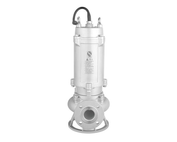 WQ(D)-S系列全不锈钢污水污物潜水电泵(国际法兰)