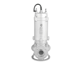 江苏JYWQ-S系列全不锈钢自动搅匀污水污物潜水电泵